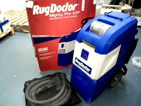 Lot 15289 RUG DOCTOR MIGHTY PRO X3 CARPET CLEANER