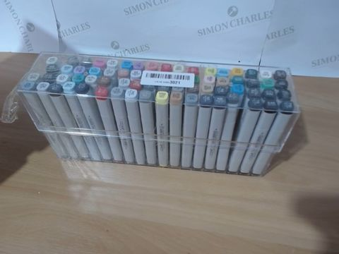 Lot 2503 COPIC MARKER SET