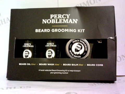 Lot 6048 PERCY NOBLEMAN BEARD GROOMING KIT