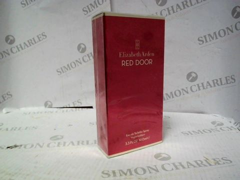 Lot 8121 BRAND NEW AND SEALED ELIZABETH ARDEN RED DOOR EDT 100ML