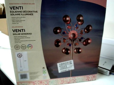 Lot 320 BOXED VENTI WIND SPINNER  RRP £32.99