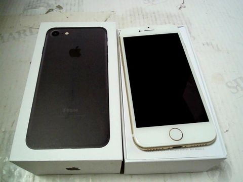 Lot 309 BOXED APPLE IPHONE 7 (A1778) SMARTPHONE - CAPACITY UNKNOWN