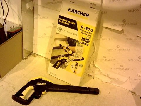 Lot 12366 KARCHER G180 Q FULL CONTROL POWER GUN PLUS