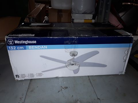 Lot 250 WESTINGHOUSE BENDAN CEILING FAN