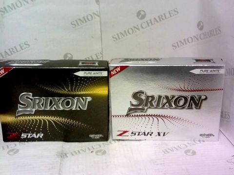 Lot 4201 2 BOXES OF SRIXON PURE WHITE GOLF BALLS
