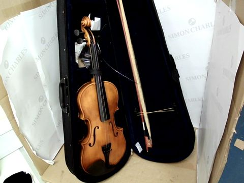 Lot 15507 AILEEN VIOLIN 4/4 FULL SIZE FOR BEGINNERS