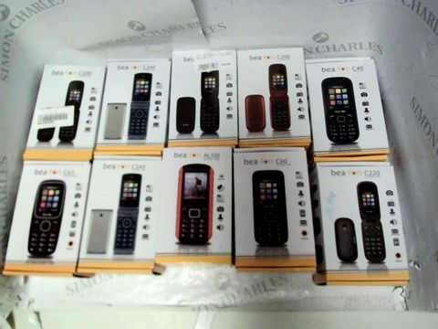Lot 7146 LOT OF APPROXIMATELY 10 ASSORTED BEAFON MOBILE PHONES