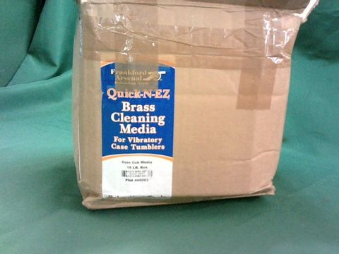Lot 4120 FRANKFORD ARSENAL QUICK N EZ BRASS CLEANING MEDIA 15LB
