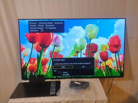 Lot 2 PANASONIC TX55FZ802B 55 INCH 4K SMART TELEVISION