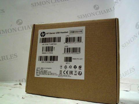 Lot 214 HP USB STEREO HEADSET