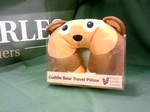 Lot 4140 CUDDLE BEAR TRAVEL PILLOW