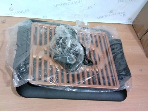 Lot 4020 GOTHAM STEEL COPPER NON-STICK ELECTRIC INDOOR GRILL