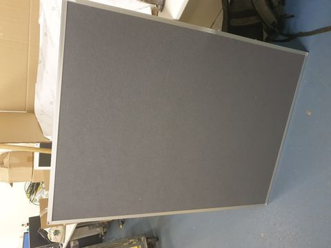 Lot 10405 Q CONNECT 1200X900MM ALUMINIUM FRAME NOTICE BOARD - GREY