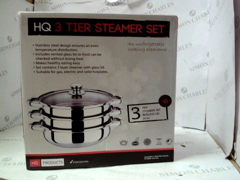 Lot 104 HQ 3 TIER STEAMER SET