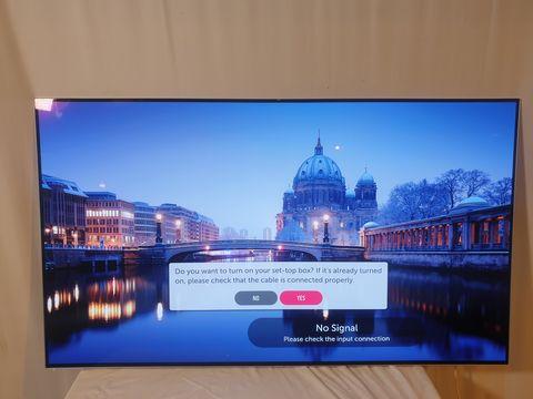Lot 4 LG 55 INCH OLED55B7V-ES OLED 4K ULTRA HD PREMIUM SMART TV