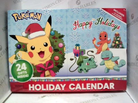 Lot 1051 NEW AND SEALED POKEMON HOLIDAY CALENDAR