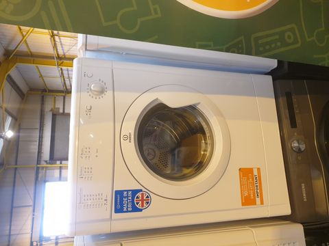 Lot 7047 INDESIT ECOTIME IDV75 VENTED TUMBLE DRYER - WHITE