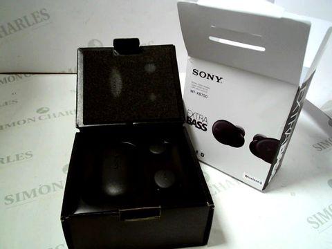 Lot 4077 SONY WF-XB700 TRUE WIRELESS HEADPHONES RRP £169.00