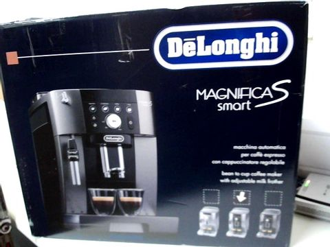 Lot 319 DELONGHI MAGNIFICA S SMART BEAN TO CUP COFFEE MACHINE RRP £549.99