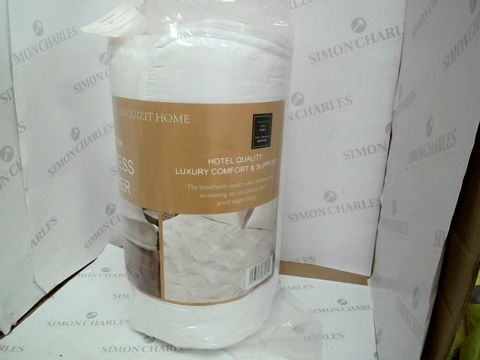 Lot 10502 EXQUIZIT HOME MATTRESS TOPPER