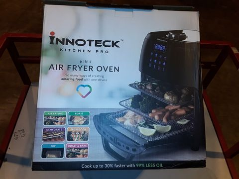 Lot 3281 BOXED INNOTECK KITCH PRO 1800W 12 LITRE AIR FRYER