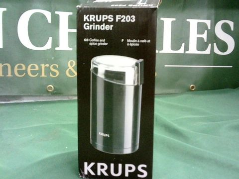 Lot 1042 KRUPS F203 COFFEE AND SPICE GRINDER