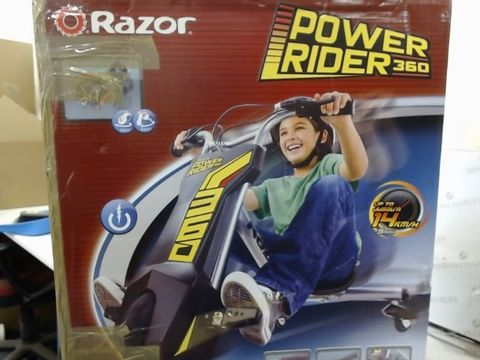Lot 4 RAZOR POWER RIDER  RRP £309.99