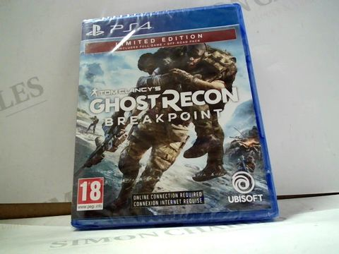 Lot 8007 TOM CLANCY'S GHOST RECON: BREAK POINT PLAYSTATION 4 GAME
