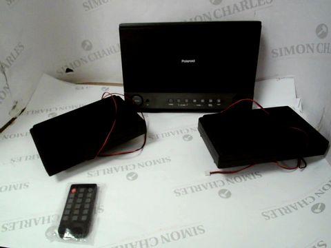 Lot 12362 POLAROID FLAT CD MICRO SYSTEM