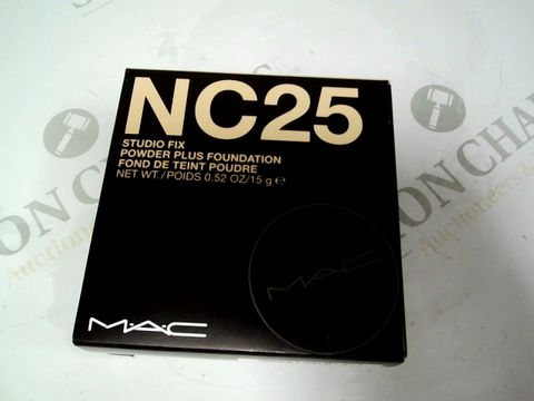 Lot 8193 MAC NC25 POWDER FOUNDATION