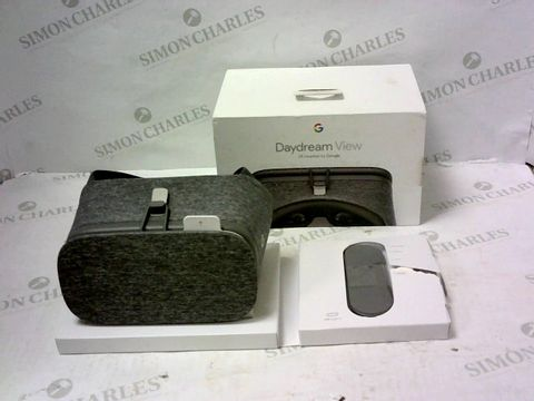 Lot 2160 BRAND NEW BOXED DAYDREAM VIEW VR HEADSET BY GOOGLE