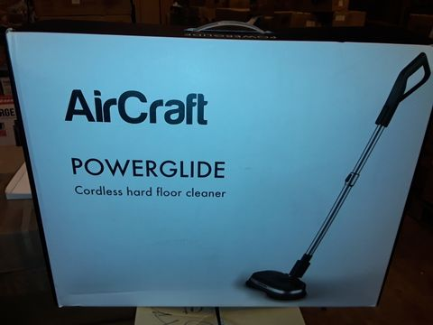 Lot 8327 AIRCRAFT POWERGLIDE CORDLESS HARD FLOOR CLEANER