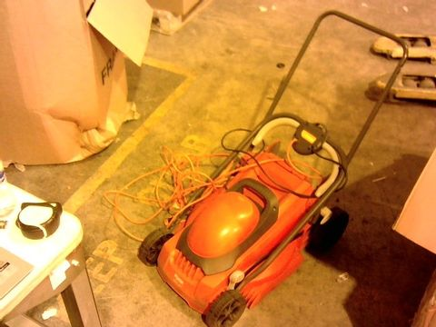Lot 13990 FLYMO EASIMOW 380R ELECTRIC ROTARY LAWN MOWER