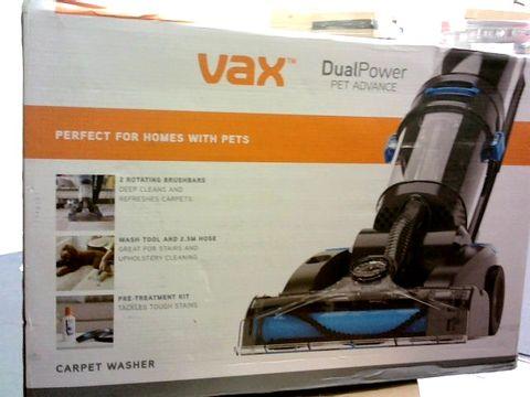 Lot 1032 VAX ECR2V1P DUAL POWER PET ADVANCE CARPET CLEANER