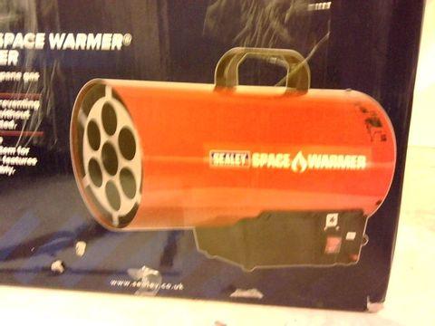Lot 12179 SEALEY LP41 SPACE WARMER PROPANE HEATER, 40, 500BTU/HR