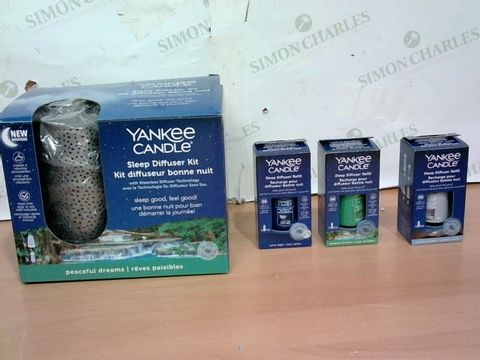 Lot 4043 YANKEE CANDLE SLEEP DIFFUSER STARTER KIT