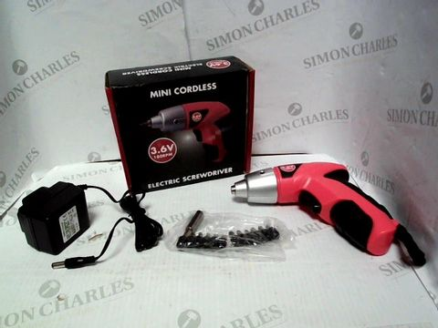 Lot 1026 DESIGNER MINI CORDLESS ELECTRIC SCREWDRIVER