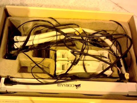 Lot 11648 CORSAIR HYDRO 100I RGB PLATINUM SE LIQUID CPU COOLER - WHITE