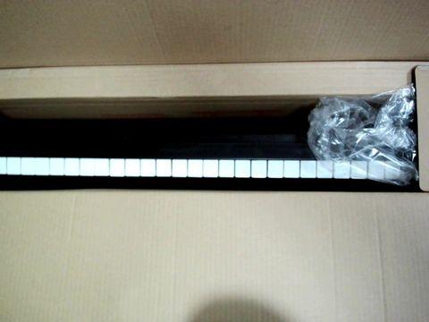 Lot 870 ROCKJAM RJ761-SK KEY ELECTRONIC INTERACTIVE TEACHING PIANO KEYBOARD
