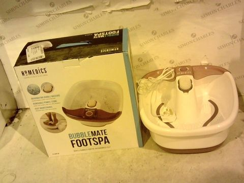 Lot 11862 HOMEDICS BUBBLEMATE FOOTSPA