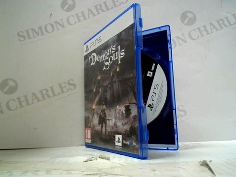 Lot 12 DEMON'S SOULS PLAYSTATION 5 GAME