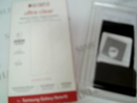 Lot 2321 LOT BOX OF APPROX 121 BRAND NEW INVISIBLE SHIELD ULTRA CLEAR PHONE PROTECTORS FOR SAMSUNG GALAXY NOTE 10