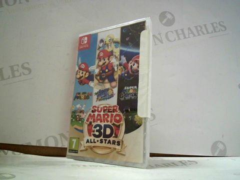 Lot 8164 SUPER MARIO 3D ALLSTARS  NINTENDO SWITCH GAME