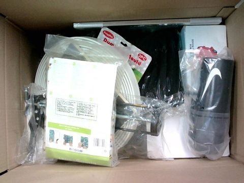 Lot 2289 BOX OF LARGE QUANTITY OF ASSORTED HOUSEHOLD ITEMS