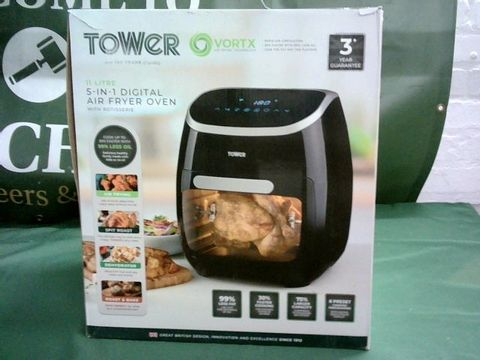 Lot 9060 TOWER 5-IN-1 DIGITAL AIR FRYER OVEN