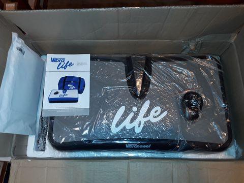 Lot 1098 BOXED VIBRA LIFE - GREY