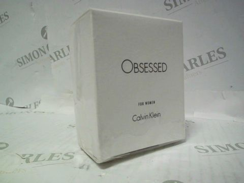 Lot 3051 BRAND NEW AND SEALED CALVIN KLEIN OBSESSES EDP 50ML