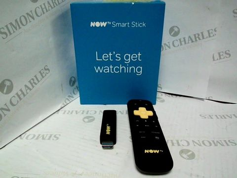 Lot 7453 NOW TV SMART TELEVISION STREAMING STICK