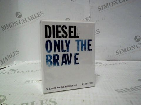 Lot 7221 BRAND NEW AND SEALED DIESEL ONLY THE BRAVE EDT 50ML