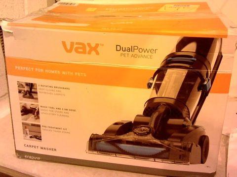 Lot 12122 VAX DUAL POWDER PET ADVANCE
